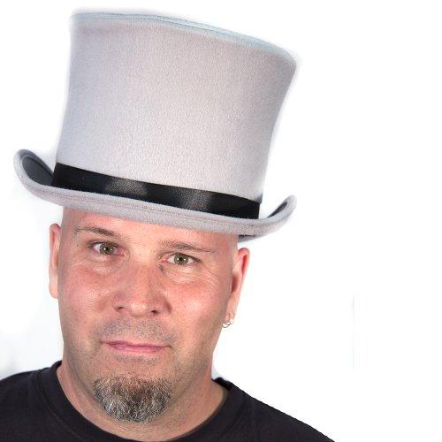 HMS Men's Sim Wool Bell Topper Hat, Grey, One Size
