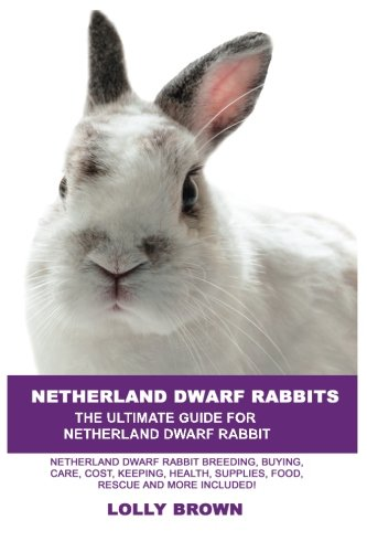 Netherland Dwarf Rabbits: Netherland Dwarf Rabbit Breeding, Buying, Care, Cost, Keeping, Health, Supplies, Food, Rescue and More Included! The Ultimate Guide for Netherland Dwarf Rabbits