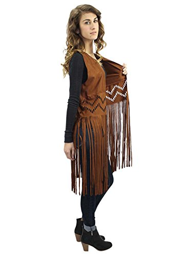 Gypsy Leather Vest - 1