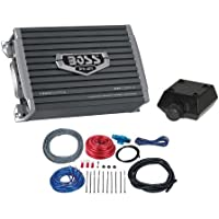 New BOSS AR12002 1200 Watt 2-Channel Car Audio Amplifier Amp + 8 Gauge Amp Kit