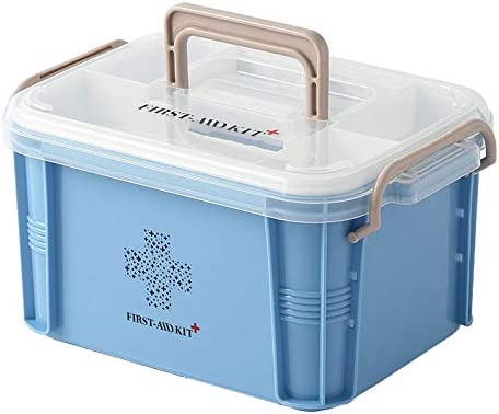 JYYX - Kit de Primeros Auxilios portátil/Emergencia/Supervivencia/Kit de Primeros Auxilios/Caja/Recipiente para medicamentos para Uso doméstico: Amazon.es: Hogar