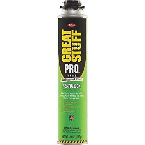 Great Stuff 11073754 Pro Pestblock Insulating Foam Sealant  20 Fl  Oz