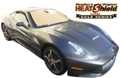 GOLD SERIES Sunshade for 2014-2017 FERRARI CALIFORNIA Windshield Sunshade - Shades Ferrari
