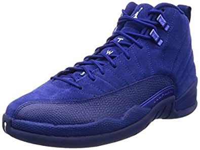 Image Unavailable. Image not available for. Color: Nike Mens Air Jordan 12  Retro Deep Royal Blue Suede Size 10
