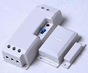 WeBaSo - Control de escape por radio para DAS-2090-E, hasta 2300 W, con interruptor de contacto para ventana DFM-1000, funciona mientras esté encendida la luz de la campana extractora