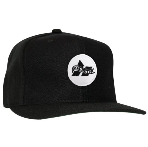 2a78d688e Macbeth 1920 Snapback Hat Black: Amazon.ca: Clothing & Accessories