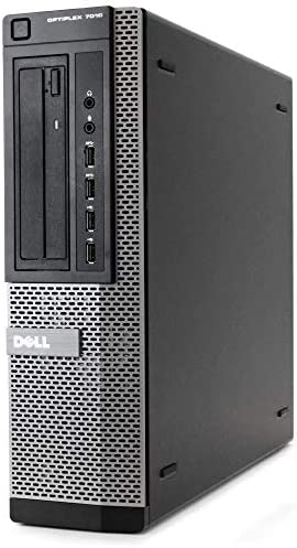 (Renewed) Dell Optiplex 7010 Business Desktop Computer (Intel Quad Core i5-3470 3.2GHz, 16GB RAM, New 480GB SSD HDD, USB 3.0, DVDRW, WiFi, Windows 10)