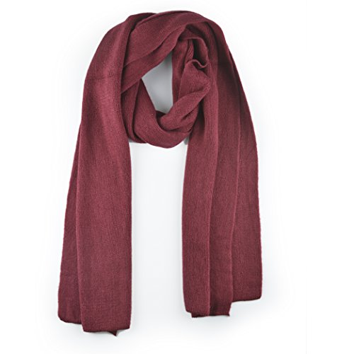 Synthiiz Premium Solid Color Cashmere Feel Unisex Winter Scarf