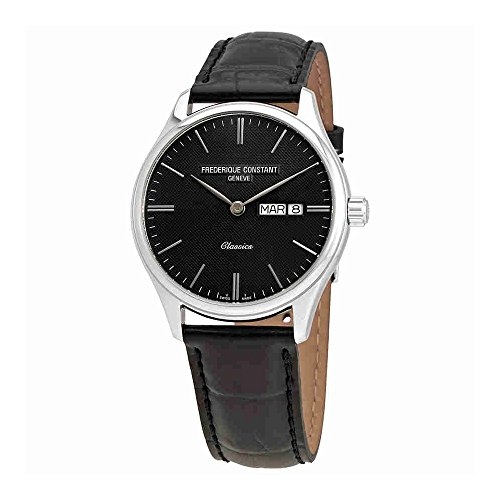 Frederique Constant Classics Quartz Dark Grey Dial Day/Date Mens Watch FC-225GT5B6