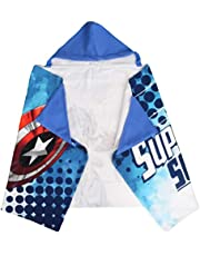 Suncity poncho met capuchon, microvezel, 100% polyester, Avengers Captain Amerika