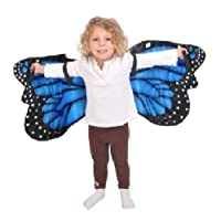 Alas de disfraz de mariposa morpho azul por Adventure Kids