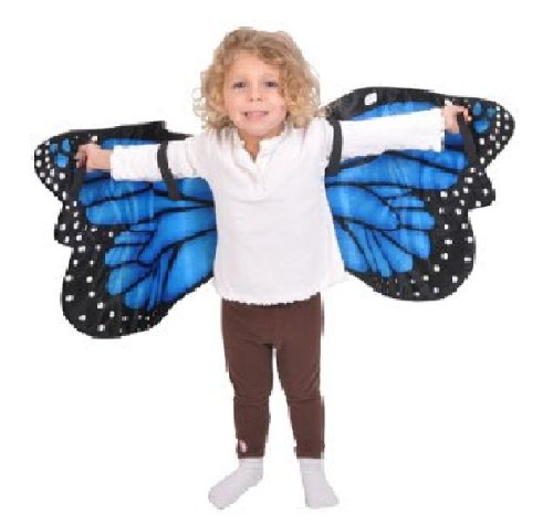 Blue Morpho Butterfly Plush Costume Wings By Adventure Kids