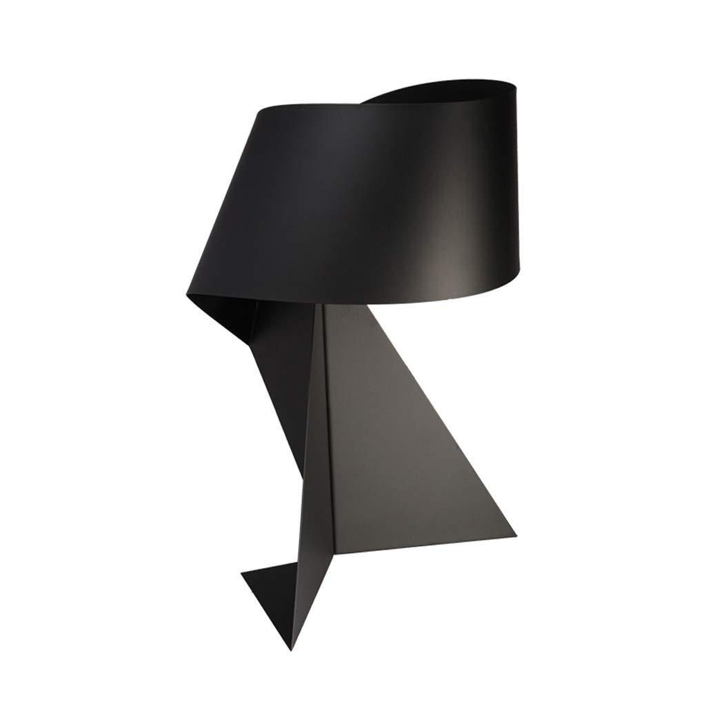Nordische Moderne Minimalistische Kreative Tischlampe Schwarz Persönlichkeit Schmiedeeisen Schlafzimmer Nachttischlampe Nachtlicht Studie Leselampe