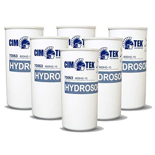 Cim-Tek 70063-6 800HS-10 Spin-On Filter 6-Pack by Cim-Tek (Image #3)
