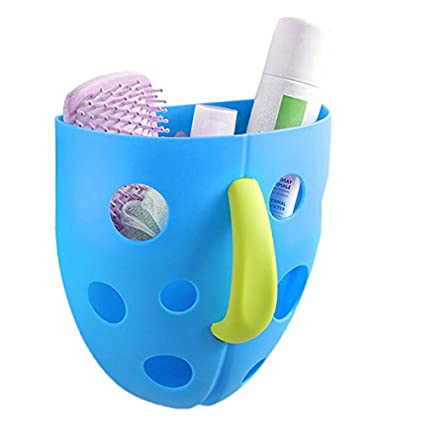 Wuudi Baby Badespielzeug Storage Halter Badezimmer Ablage Korb