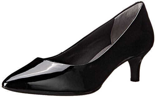 Rockport Women's Total Motion Kalila Pump Black Patent 8 M