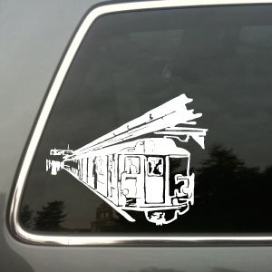 New York Subway vinyl decal Big © 2013 Laced Up Decals
