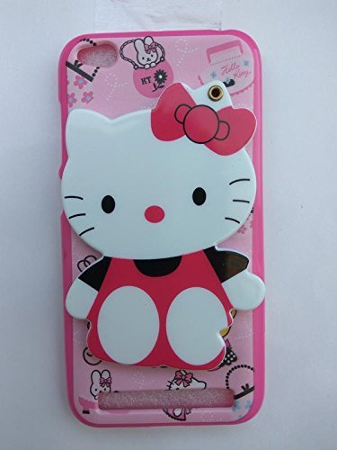 size 40 1599e 93467 Anvika Designer 3D Printed Mirror Hello Kitty Case Cover for Xiaomi Redmi  5A - (Colour May Varry)
