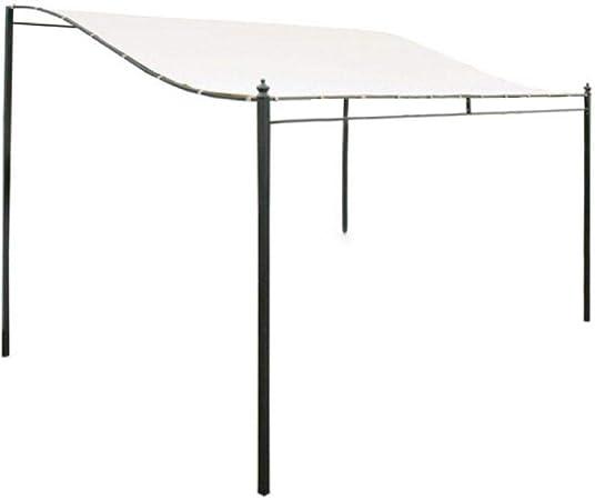 3x2.6m Techo Pérgola Lona 300D Reemplazo impermeable Cubierta superior del pabellón Pabellón Sombra del sol Cubierta del techo Jardín exterior Accesorios para tiendas de campaña (Solo techo Pérgola): Amazon.es: Hogar