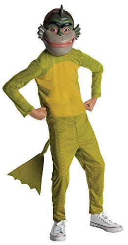 Kids-Costume Monster V Alien Missing Link Std Sm