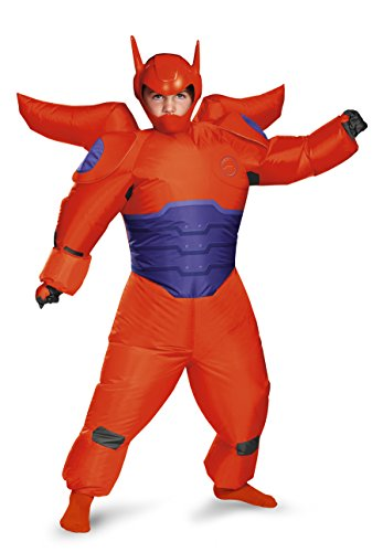 Red Baymax Inflatable Child Costume
