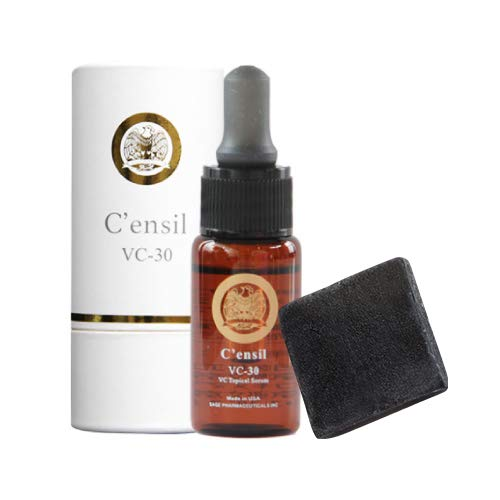 センシル 美容液 C'ensil C-30 + プラスソープHQミニ B07VGQTRG7