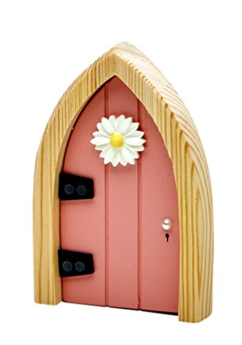 The Irish Fairy Door Company Pink Arched Fairy Door