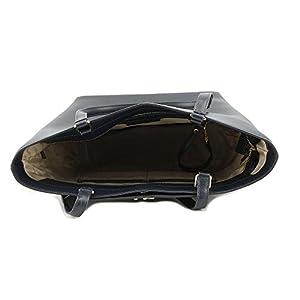 00e3d85124ca ... Michael Kors Mott Leather Tote - ADMIRAL - 30F7GOXT2L-414. upc  191262357046 product image1. upc 191262357046 product image2
