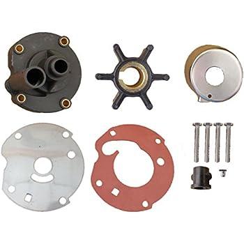 Amazon com: Evinrude Johnson Water Pump Kit 0763758: Automotive