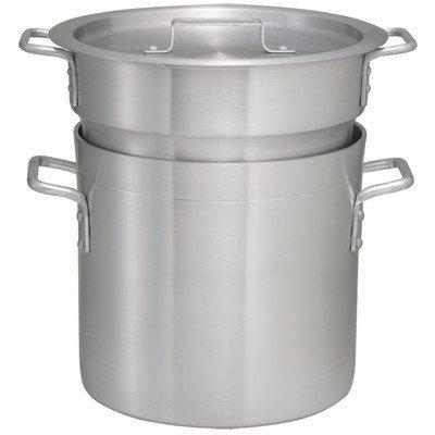Winco ALDB-8 Aluminum Double Boiler Set, 8-Quart by Winco by Winco