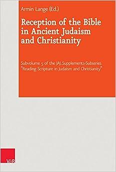 El Autor Descargar Utorrent Reception Of The Bible In Ancient Judaism And Christianity Infantiles PDF