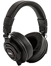 LyxPro HAS-30 Professional Over-Ear Studio Monitor Headphones with Detachable Cable, for Recording, Mixing, DJ & Music Listening