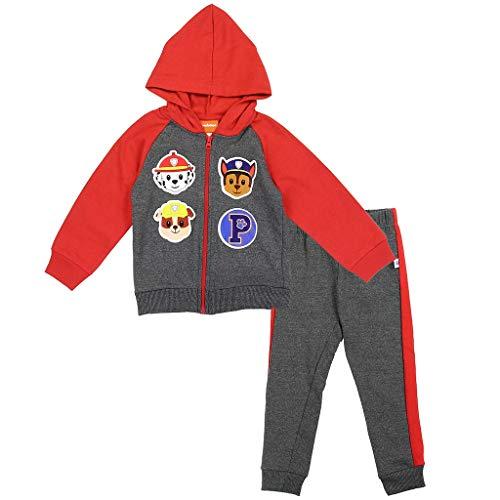 Nickelodeon Little Boys' Toddler Paw Patrol Zip Hoodie Pants Set (2T) -