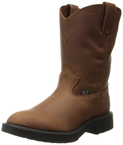 Justin Boots Work Boots (Toddler/Little Kid),Aged Bark,8.5 D US Toddler -