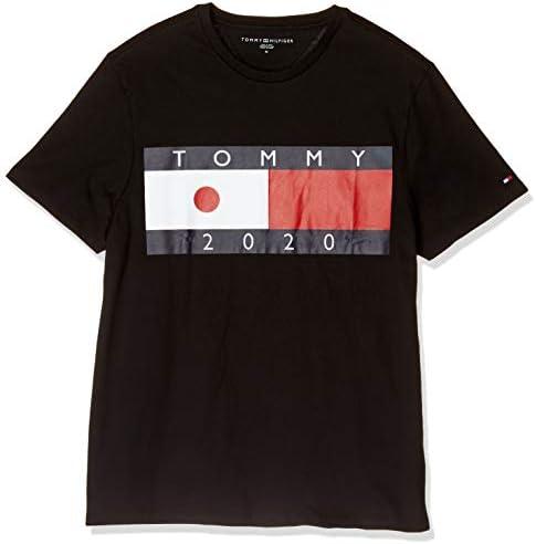 【日本限定】フラッグロゴTシャツ 78E7453 ロゴ Tee カットソー カジュアル 半袖 Tシャツ トップス シャツ