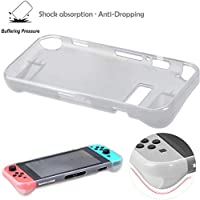 2 IN 1 TPU Protective Anti-scratch Crystal Case Cover skin Kit for Nintendo Switch Console
