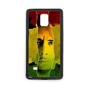 bob marley 3 Samsung Galaxy Note 4 Cell Phone Case Black 91INA91389572