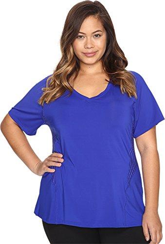 Marika Curves Women's Plus Size Spark Tee Cobalt Ink T-Shirt