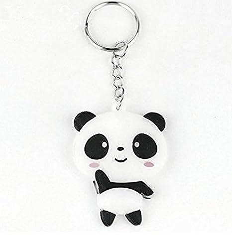 CAOLATOR Llavero de Amantes Creativo Llavero Panda para ...