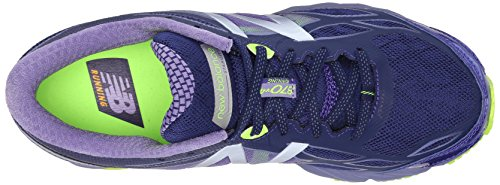 New Balance Women's W870V4 Running Shoe Blue/Purple