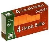 Noma/Inliten IMPORT 1074O-88 C7 Ceramic Bulb, Orange
