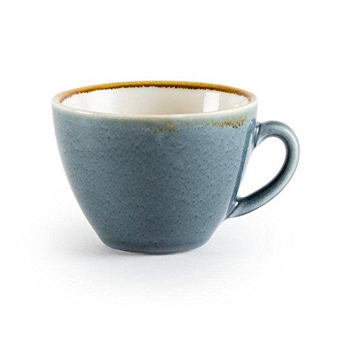 6x Olympia Kiln Cappucino Cup Ocean 12oz 340ml Coffee Tea Serving Tableware RBD-GP348