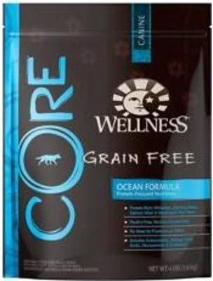Wellness CORE Natural Grain Free Dry Dog Food - Ocean Recipe - 4lb