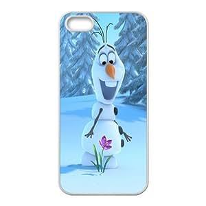 frozen snowman Phone Case for iPhone 5S Case