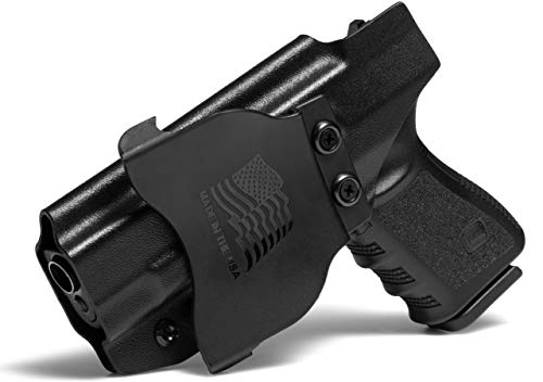 Concealment Express OWB Paddle KYDEX Gun Holster: fits Glock 19/19X/23/32/45 - Custom Fit - US Made - Outside Waistband - Adj. Cant & Retention