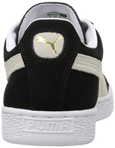Puma Suede Classic+, Baskets Basses Mixte Adulte Noir (Black/White 03)