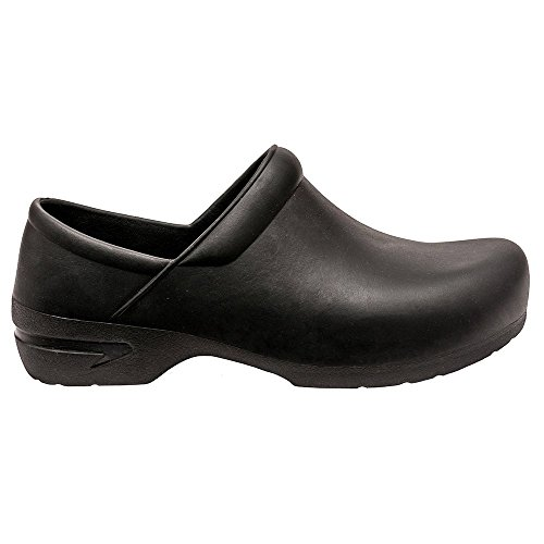 Basics By Allheart Unisex Closed Back Clog Black LlLKPx