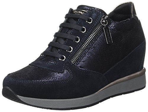 Stonefly Women's Jackie 3 Velour Platform Heels Blue (Blu-navy 1a02) how much sale online for sale for sale sale best sale latest online 9dUlC