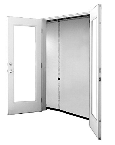 Bug Off 72R by 96 Instant Screen - Reversible Fits French Doors and Sliding Glass Doors