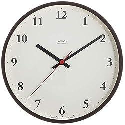 Lemnos Plywood clock radio clock Brown LC10-21W BW